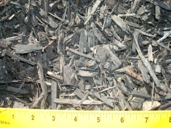 Ebony Bark Chips